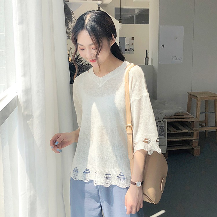 Korean fashion sleeveless sweater