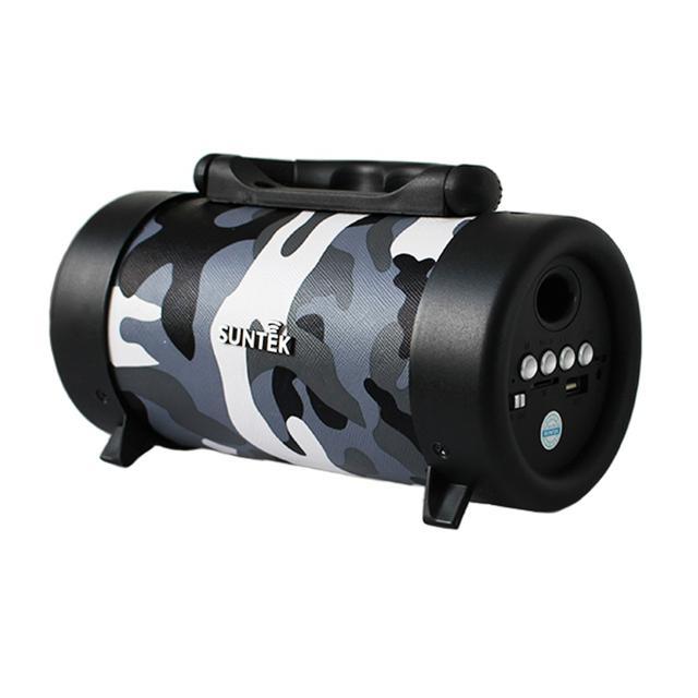 Loa Bluetooth SUNTEK CH-M03 Xám rằn ri