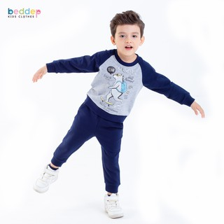 Bộ quần áo Beddepkids Clothes chất nỉ dày dặn cho bé trai B22 thumbnail