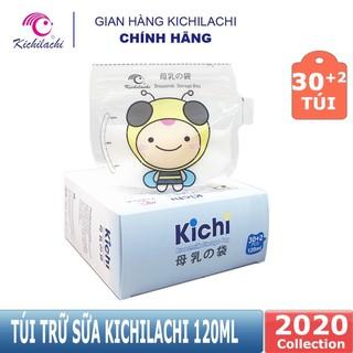 Túi trữ sữa kichi 120ml – Hộp 32 chiếc