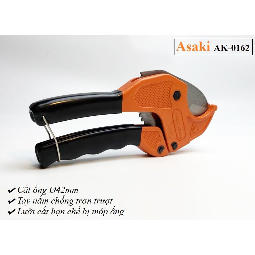 Kéo cắt ống nhựa PVC, PPR, PE Asaki AK-0162 Ø42mm