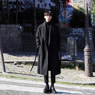 Áo khoác dạ dáng dài Hàn Quốc FD203 form siêu đẹp