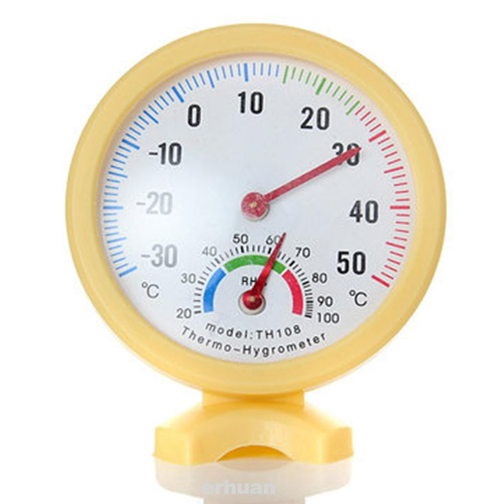 Standing Home Hanging Pointer Mini Humidity Indoor Outdoor Thermometer