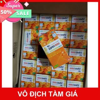 [CHÍNH HÃNG] Viên ngậm Vitamin C Jeju Tangerine Plus Hàn Quốc tăng cường sức đề kháng ( Hộp 500g)