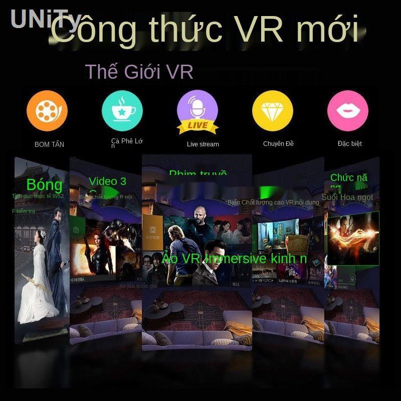 ✐▦❂Kính VR Kính âm thanh nổi 3D chơi game thực tế toàn cảnh rạp hát di động bảo vệ mắt...
