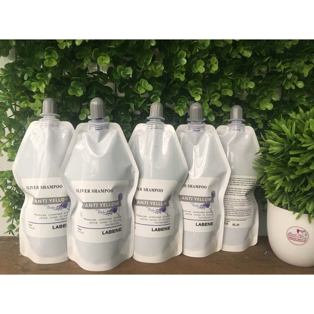 Dầu gội tím Silver Shampoo LABENE GIỮ MÀU & KHỬ VÀNG ( Mẫu mới)