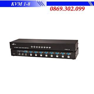 Bộ Switch KVM 8 port KVM 1-8