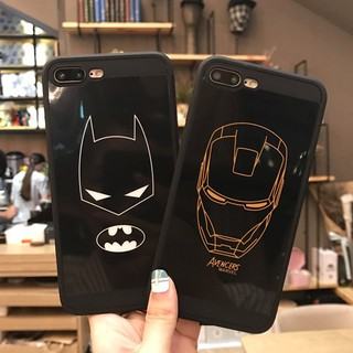 Ốp Đôi Batman & ironman Cho Iphone