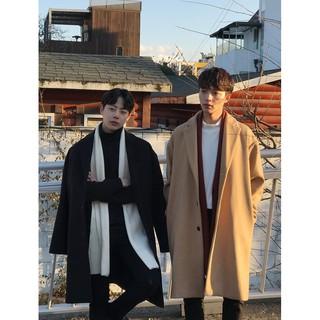 Áo khoác dạ dáng dài Hàn Quốc FD201 ( có ảnh feedback )