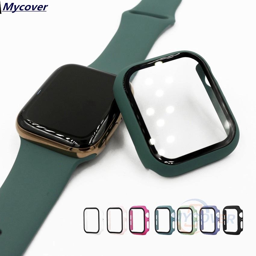 Kính cường lực bảo vệ mặt đồng hồ thông minh Apple Watch 38 42mm 40 44mm Series 5 4 3 2 1