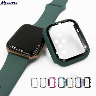 Kính cường lực bảo vệ mặt đồng hồ thông minh Apple Watch 38 42mm 40 44mm Series 5 4 3 2 1 thumbnail