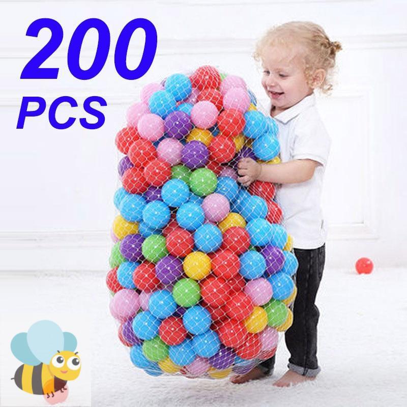 Set 200 Quả Bóng Rổ Đồ Chơi Cho Bé