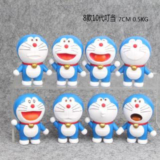 Doraemon hand to do 10th generation Doraemon model birthday gift