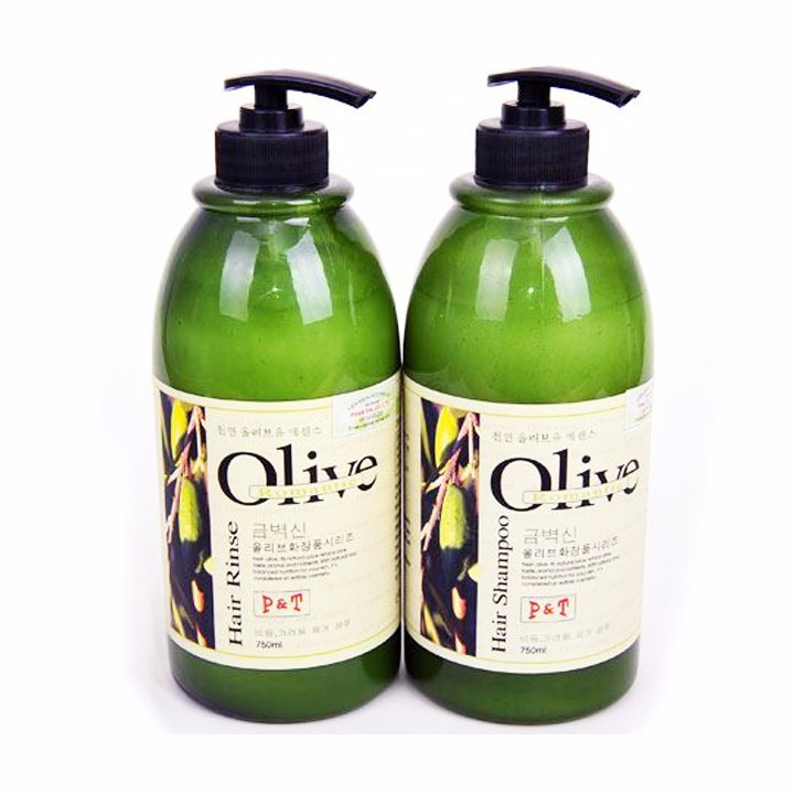 Dầu Gội Và Dầu Xả Olive