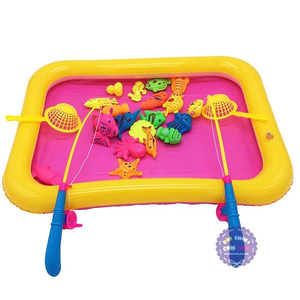 Bộ đồ chơi bể phao câu cá nam châm dưới nước 2 cần - 2810950 , 417999891 , 322_417999891 , 89000 , Bo-do-choi-be-phao-cau-ca-nam-cham-duoi-nuoc-2-can-322_417999891 , shopee.vn , Bộ đồ chơi bể phao câu cá nam châm dưới nước 2 cần