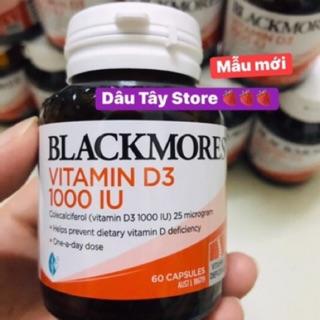 (CÓ SẴN) Blackmore Vitamin D3 – hỗ trợ Canxi// chống loãng xương HSD: 08/01/2023