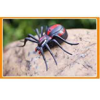 Đồ chơi con nhện điều khiển có đèn (kèm pin)