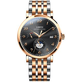 [Mã FARSBR153 giảm 15% đơn 150K] Đồng hồ nam Lobinni No.6009-6