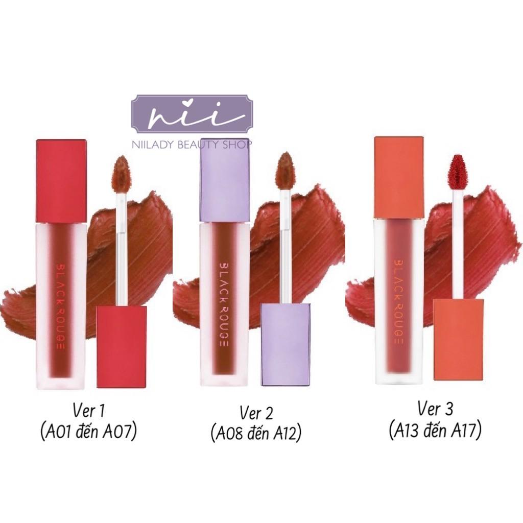 (A01 đến A17) Son Black Rouge Air-Fit Velvet Tint
