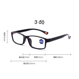 kính lão 3 độ
