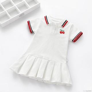 Đầm Bé Gái In Hình Quả Cherry