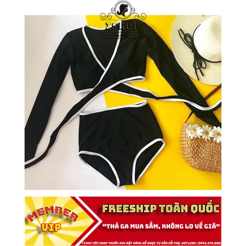 [Freeship Từ 50K] Đồ Bơi Nữ, Couple Bikini Mặc Đi Biển Hot Hè 2019, Ảnh thật 100%