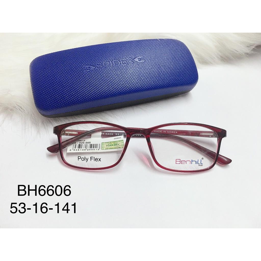 Giá bán Gọng Kính Cận Nhựa Dẻo Dạng Bầu Chính Hãng  Benhill Bh 6606 Hàn Quốc