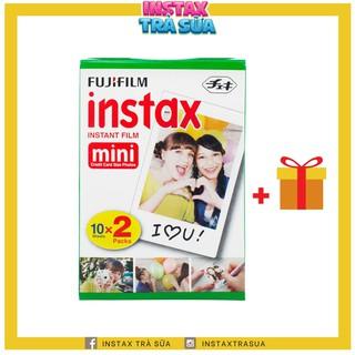 INSTAX MINI FILM – Viền Trắng – Giấy in cho máy ảnh lấy liền Instax Mini Fujifilm – Chính hãng Nhật DATE CA0