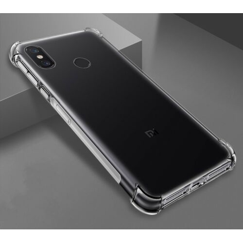 For Xiaomi Mi 8 Case Clear Hybrid Slim Shockproof Soft TPU Bumper Cover