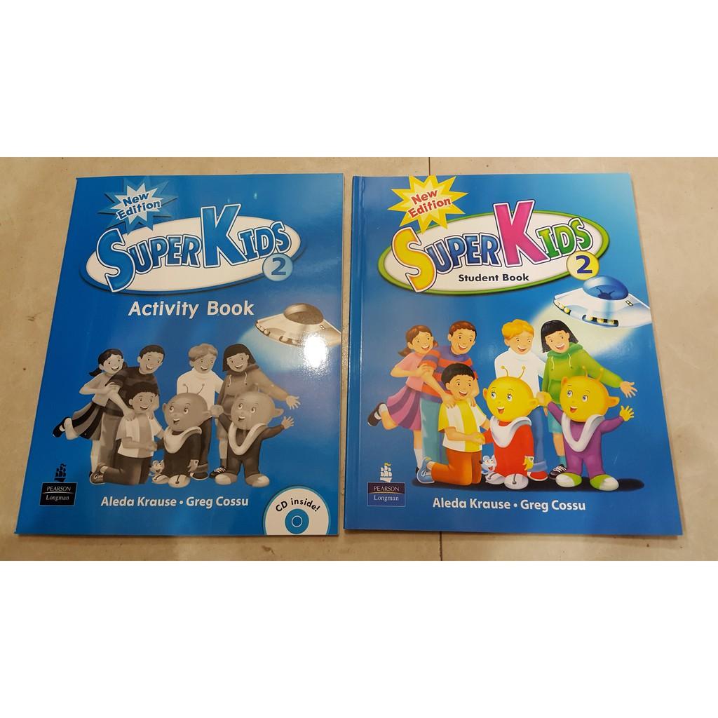 Sách Super Kid 2 (english for kid) Kèm CD