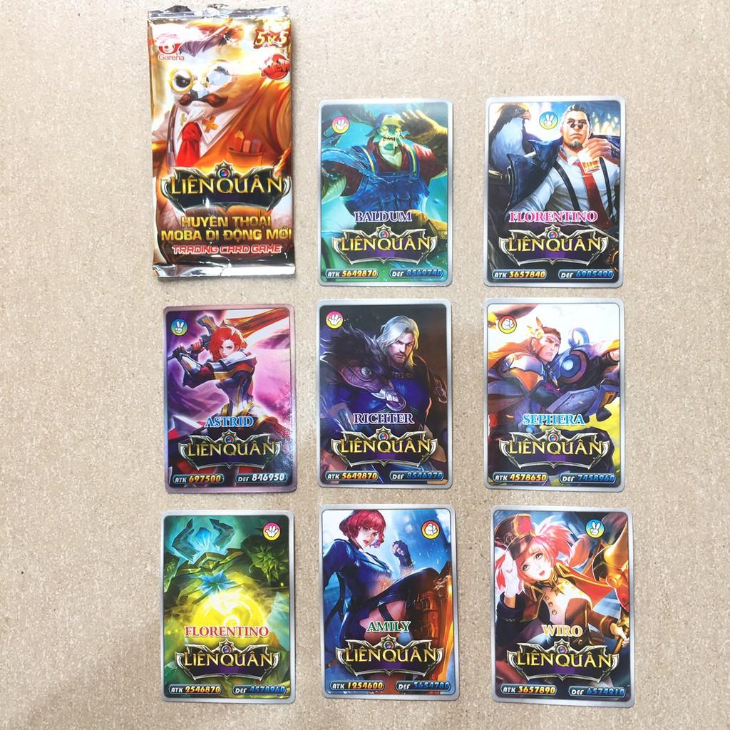 1 Gói thẻ bài liên quân, pokemon