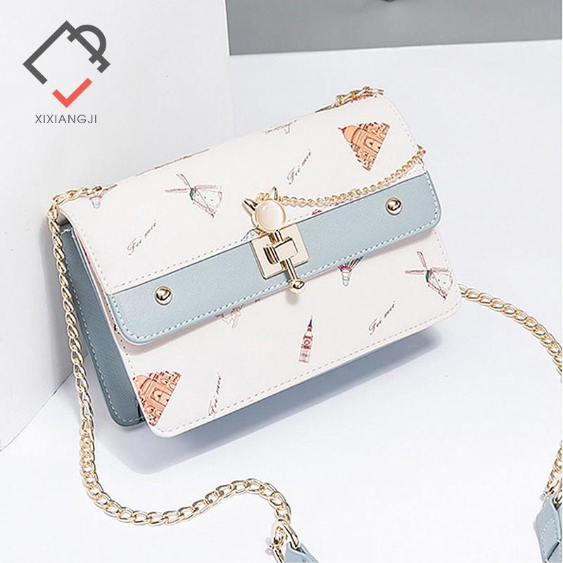 Túi đeo chéo nữ Xi Xiang Ji xinh xắn trẻ trung X3227
