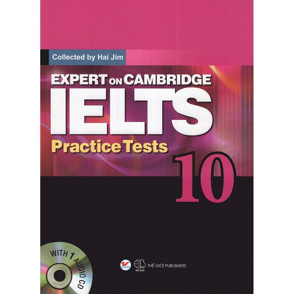 Sách - Expert On Cambridge Ielts Practice Tests 10 (Kèm Cd)
