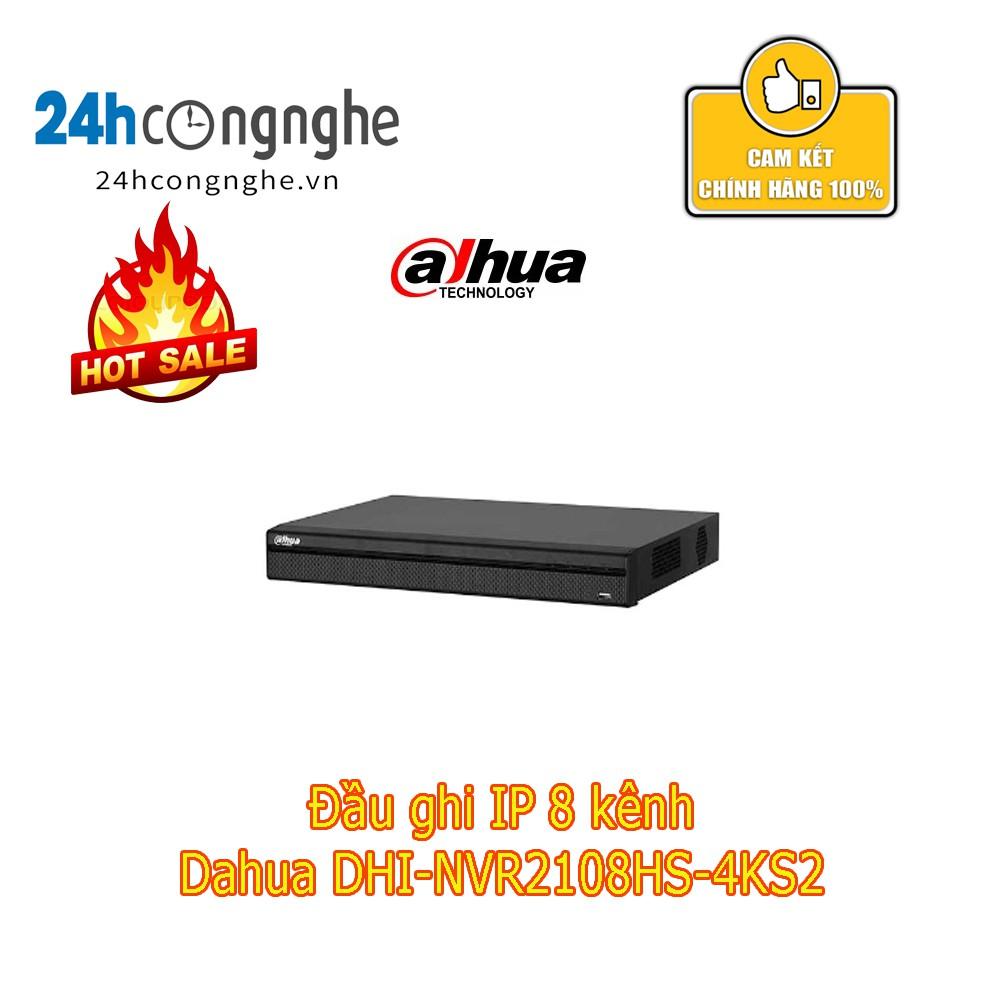 Đầu ghi IP 8 kênh Dahua DHI-NVR2108HS-4KS2