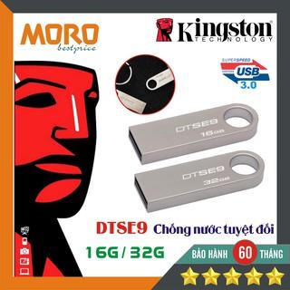 [Mã ELFLASH5 giảm 20K đơn 50K] [CHỐNG NƯỚC] USB Kingston DTSE 16GB - 32GB - Bảo Hành 5 năm