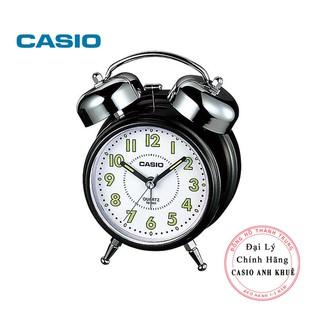 Đồng hồ để bàn Casio TQ-362-1BDF có đèn chuông báo thức, dạ quang ( 13.6×10.6×6 cm )