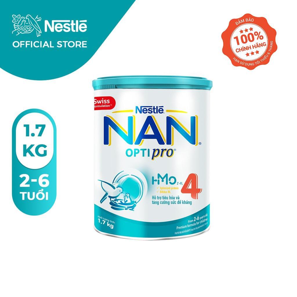Sữa Bột Nestle NAN OPTIPRO 4 HM-O Hộp 1.7kg