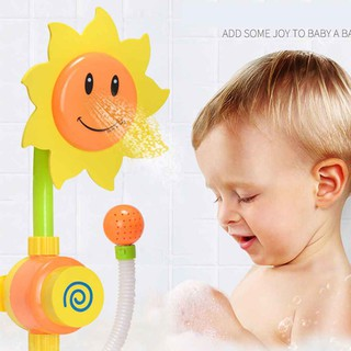 Funny Baby Water Game Shower Playthings Water-tap Swimming Bath Toys Setchoosewho