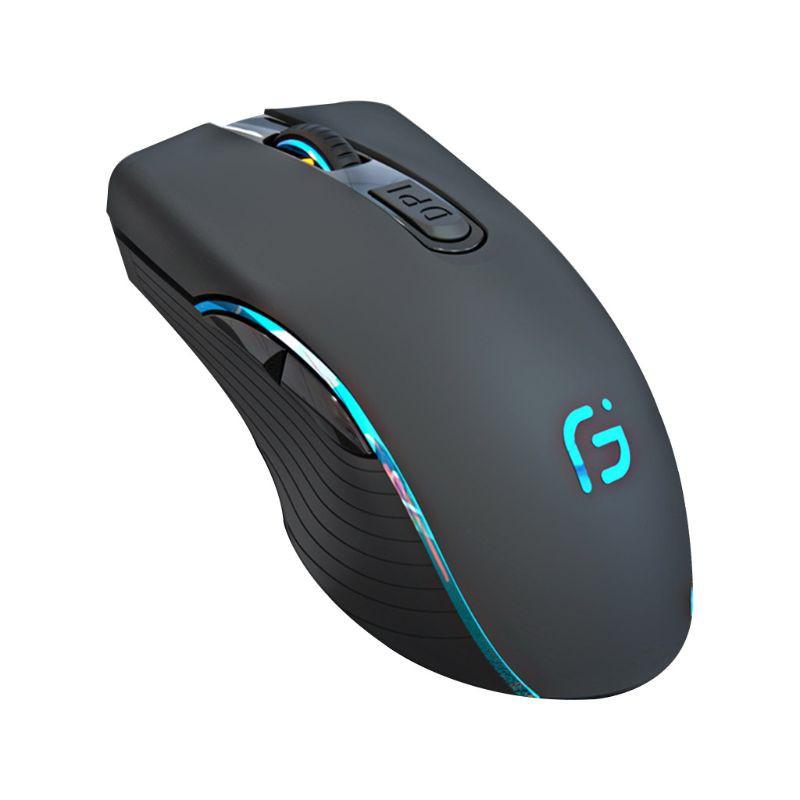 chuột không dây Bluetooth 2.4ghz Có Thể Sạc Lại