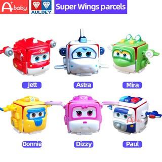 Super Wings Auldey Brand Đồ Chơi Biến Hình Chính Hãng 2 Kiểu BIến Hình Dạng Máy Bay Và Gói Hàng Thú Vị Cho Bé thumbnail