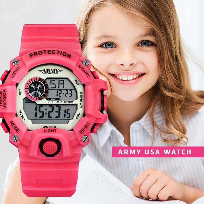 Đồng hồ Trẻ Em ARMY USA - Chống Sốc & Chống Nuốc Tốt