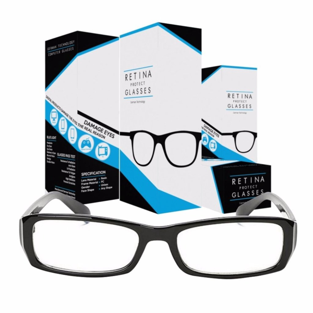 Accessories Retina Protect Glasses Computer Glasses แว่นคอมพิวเตอร์ แว่นกรองแสงคอมพิวเตอร์ แว่นถนอมสายตา แว่นกรองแสงสีฟ้