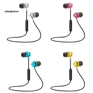 WDTE M6 Sports Neckband In-ear Magnetic Ear Tips Phone Wireless Bluetooth Earphones