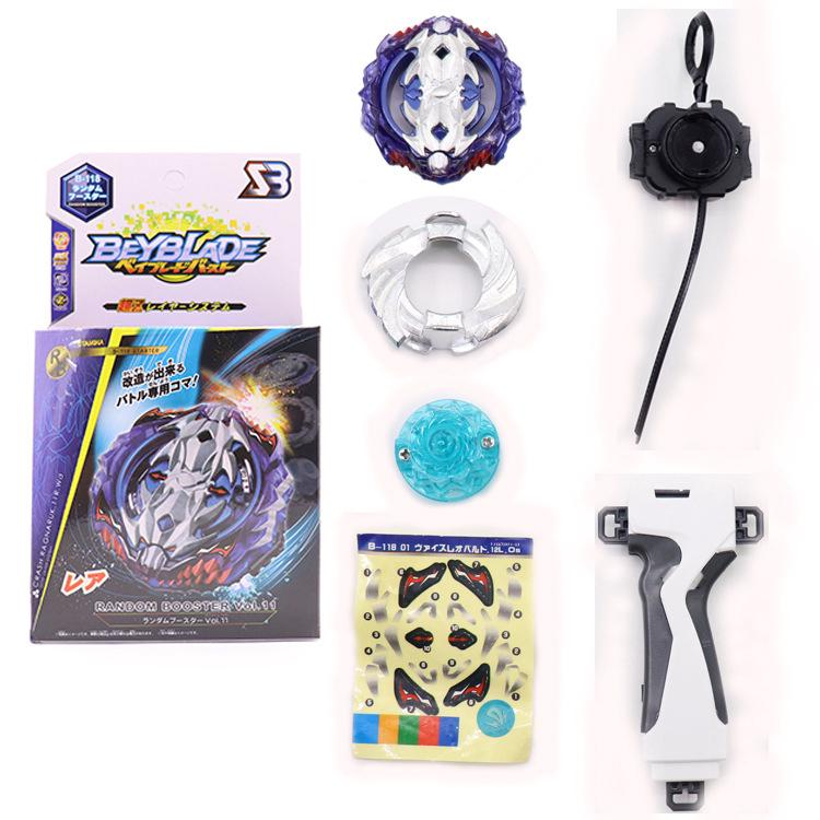 Beyblade burst B118 Metal Fusion 4D with Launcher Spinning Top Gift for Kids