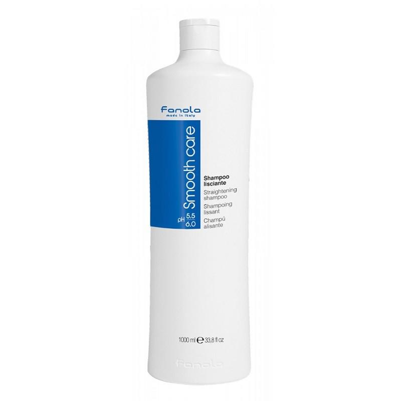 [SALE OFF - HSD 03/2022] Fanola Smooth- Dầu gội chăm sóc tóc duỗi Fanola Smooth Care 1000ml