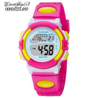 Đồng hồ trẻ em Decoshop68 W03-HV dây silicon - 2 màu