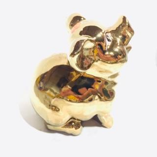 Lợn Sứ Mạ Vàng
