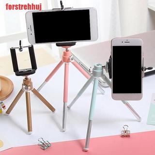 (FRJ-COD)Camera Cell Phone Holder Clip Desktop Photography Telescopic Tripod Holder Stand