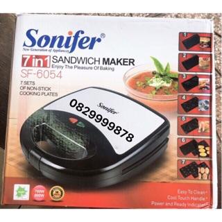Máy Nướng Bánh Đa Năng Sonifer ( 7 Khuôn ) Tặng sét 10 cái khẩu trang