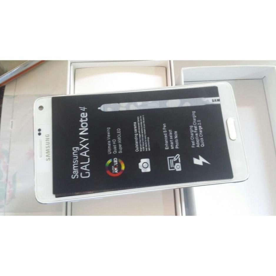 điện thoại SAMSUNG GALAXY NOTE 4 ram 3G/32G mới zin, chơi PUBG/Free Fire mượt